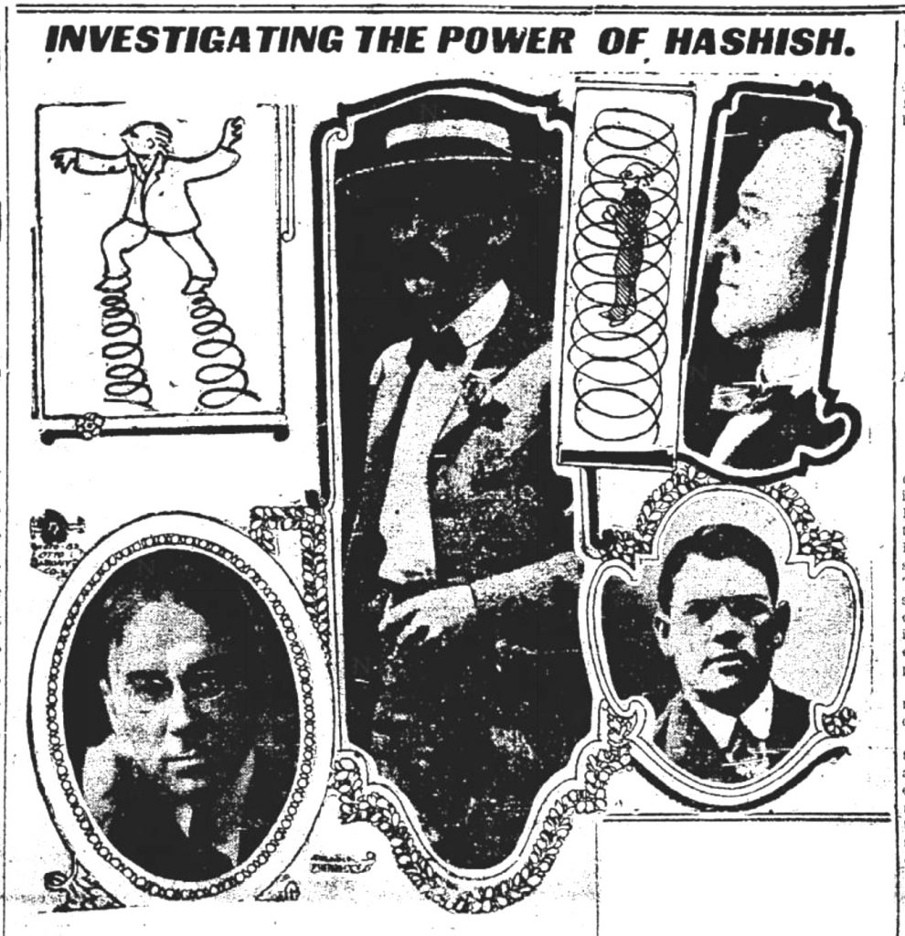 New York Authors Investigate Hashish (1908)
