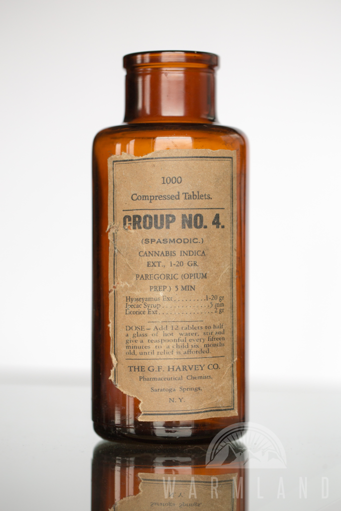 Cannabis-based Tablets by G. F. Harvey Co. for spasmodic croup