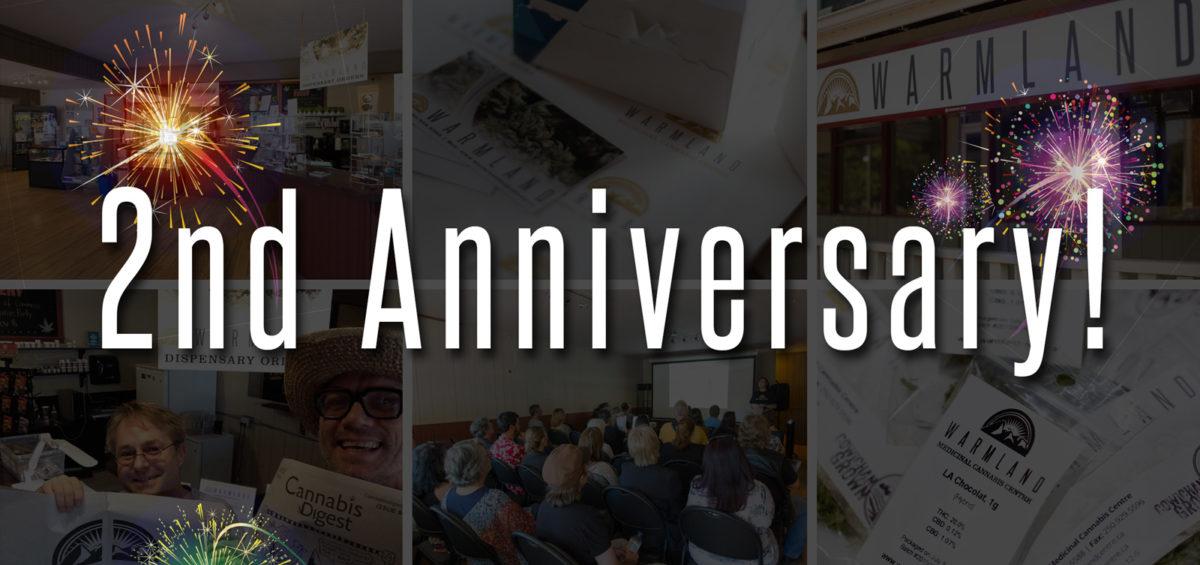 August 26 Warmland's Second Anniversary