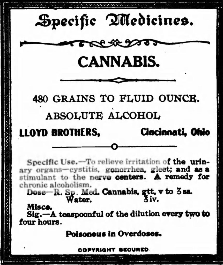 1907-lloyd-brothers-cannabis-label